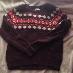Hollister Fair Isle Sweater
